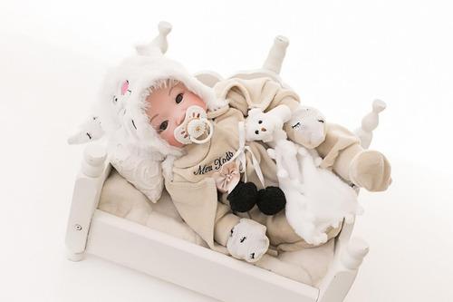 Bebê Reborn Meu Xodó Pode Dar Banho Corpo Todo 100% Silicone