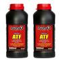 2 Oleo Hidraulico Para Macaco Prensa Maquina Tipo Atf 500ml