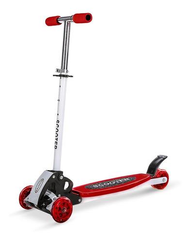 Patinete De Criança Scooter Dobrável Infantil Até 70kg