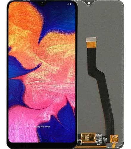 Tela Touch Display Lcd Galaxy A10 A105 + Cola + Película