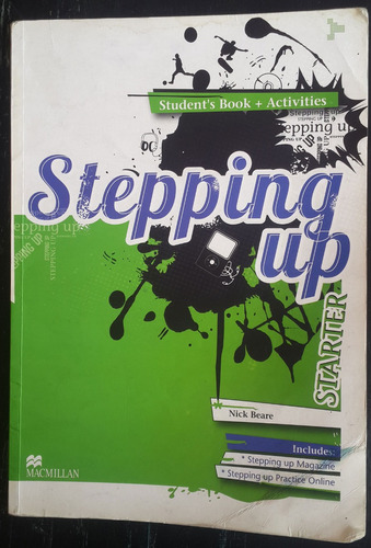 Stepping Up Starter Student S Book + Activity Book Macmillan