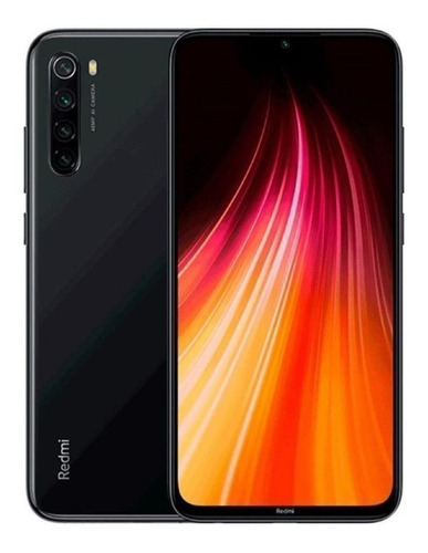 Xiaomi Redmi Note 8 Dual Sim 64gb Black 4gb Ram + Película