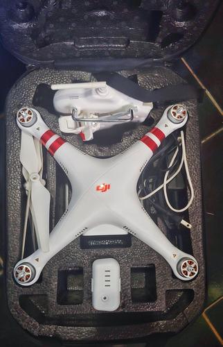 Drone Dji Phantom 3 Standard Com Pouco Tempo De Uso