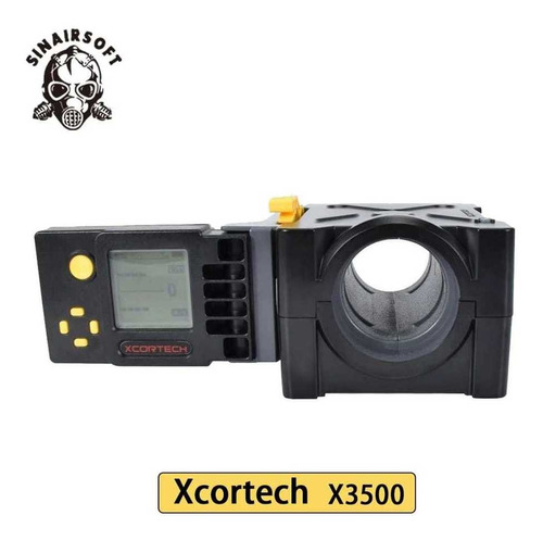 Cronógrafo Balístico De Alta Precisão X3500 Pcp Spring