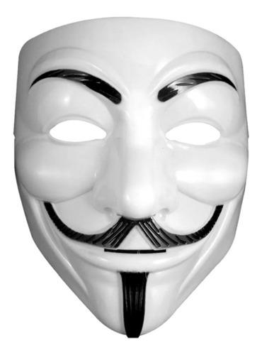 Máscara V De Vingança Anonymous Fantasia Cosplay Zangado