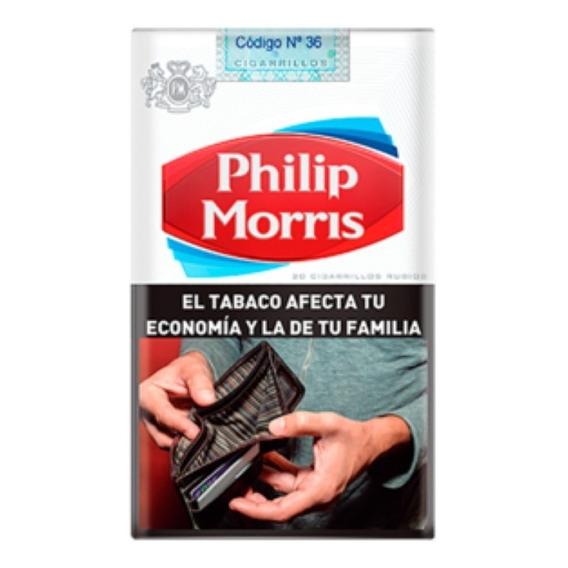 Philip Morris 20 Ks Comun (10 Atados X 20 Cigarrillos)