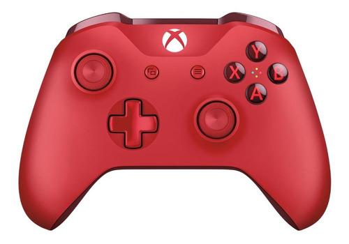Control Joystick Inalámbrico Microsoft Xbox Mando Inalámbrico Xbox One Red