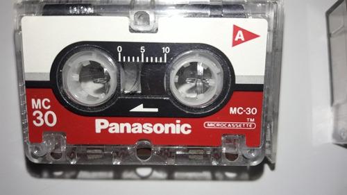 Microcassette Sony Mc - 60 Y Panasonic Mc - 30