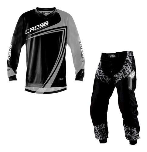 Conjunto Roupa Calça Camisa Motocross Trilha Pro Tork