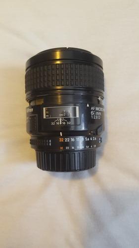 Lente Nikon 60mm F/2.8d Af Micro-nikkor