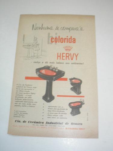 L - 290/ Pup30 Propaganda Antiga  Indústria Hervy Original