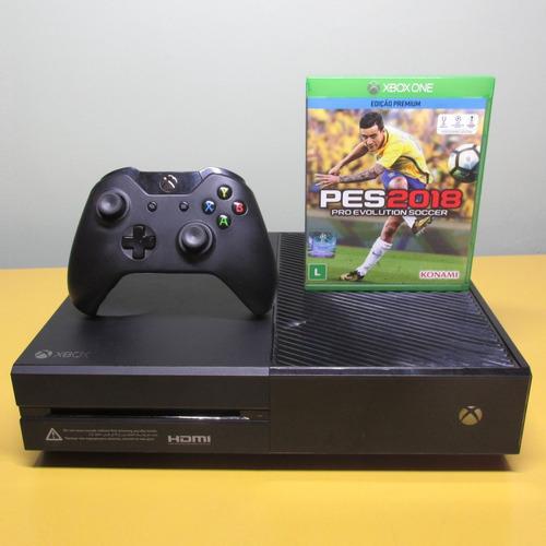 Xbox One 500gb Completo + Jogo + Controle Original