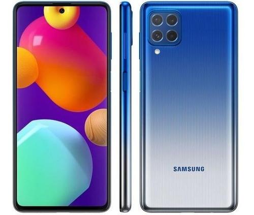 Smartphone Samsung Galaxy M62 128gb 8gb Ram Octa Core Azul