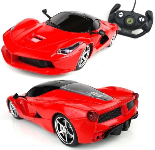 Carrinho De Controle Remoto Ferrari Vermelha