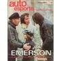 Auto Esporte Nº96 Emerson Fittipaldi Dodge Dart Corcel Cb125