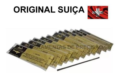 Serra Ourives Gold Shark A*f Original Swiss 12 Unidades