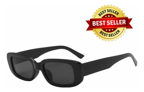 Óculos De Sol Retrô Futura Lente Preto Blogueira Moda Uv