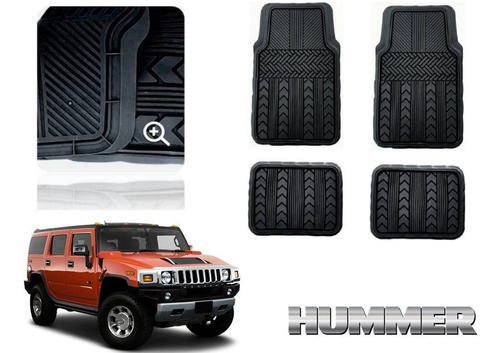 Tapetes Uso Rudo Hummer H2 2004 Race Track