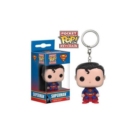 Funko Pop! Keychain Dc Comics Superman - Funko Pop