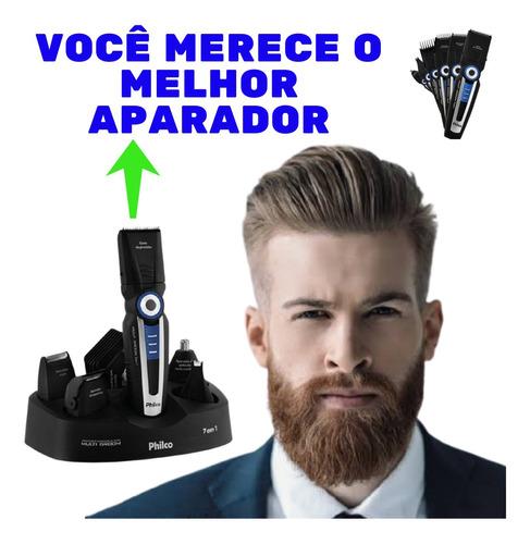 Kit Aparador De Pêlos Sem Fio Corte Rente A Pele
