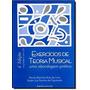 Livro Exercícios De Teoria Musical Uma Abordagem Prática