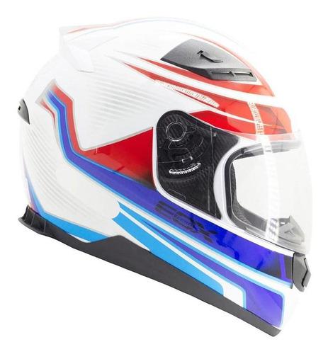 Capacete Moto Ebf E0x E Zero X Frost Fechado Fosco/brilhante