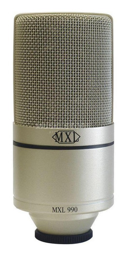 Micrófono Mxl 990 Condensador Cardioide