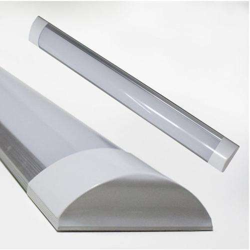 Luminaria Tubular Led Sobrepor 36w 6000k 120cm Calha 036bf