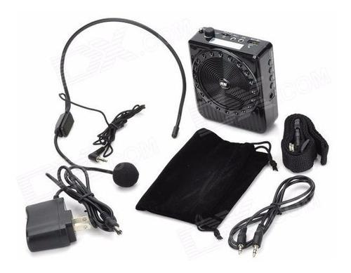 Microfono Vincha Con Amplificador Portátil De Cintura