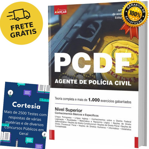 Apostila Pc Df Agente De Polícia Civil Distrito Federal