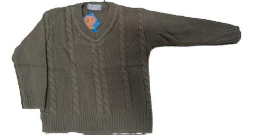 Blusa Trabalhada Lã Infantil