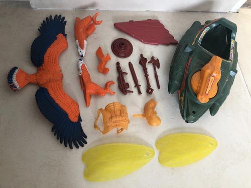 He-man Motu Lote Accesorios Armas Y Mas, Top Toys Y Mattel