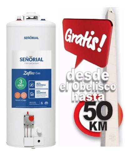 Termotanque Señorial Zafiro 85 L Multigas Envio Gratis 50 Km