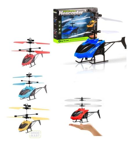 Helicóptero Mini Drone Sensor De Mão