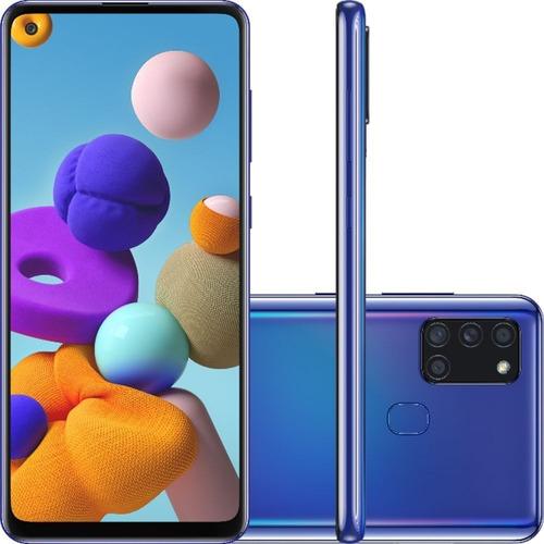 Samsung Galaxy A21s Dual Sim 64 Gb 4gb Ram - Azul