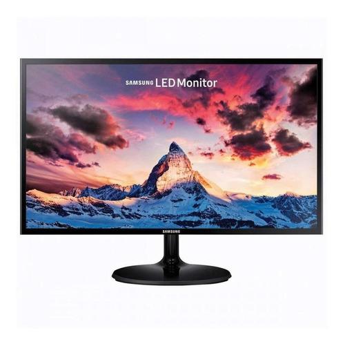 Monitor Samsung S24f350fh Led 24  Negro 100v/240v