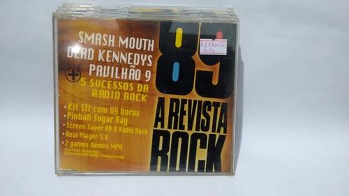 Cd Vários -  89 A Revista Do Rock 12 Anos Original