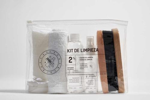 Kit 120 Limpieza De Zapatillas De Capas Y Cuidados