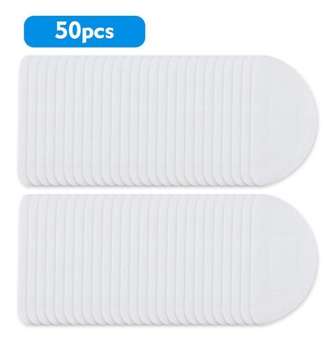 50pcs Máscaras Descartáveis Filtro Almofada 3 Camadas Resp