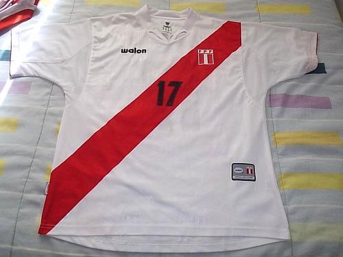 Seleção Do Peru  2005 Farfán#17 Tamanho L