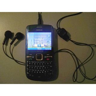 Celular Nokia C3 Para Personal Con Cargador Y M/libres