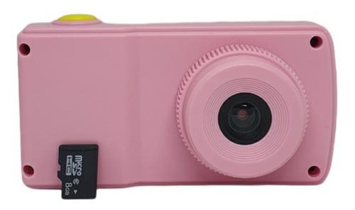 Câmera Fotográfica Infantil + Cartão De Memória 8gb