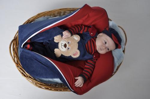 Saida Maternidade De Saco Plush Menino