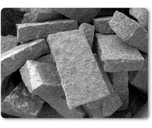 Pedra Folheto Granito Calçamento Caminho 45x23 E 10cm Altura