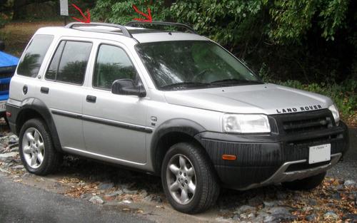 Molduras Land Rover Freelander 98 2002
