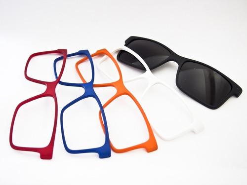 Armação Para Óculos Smart Acetato Troca-frente (ref. 930)