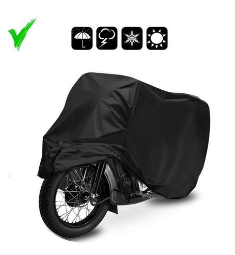 Capa Cobrir Moto Proteção 100% Forrada Universal P M G