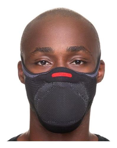 Máscara Knit Fiber Pro 3d Fio C/ Nanopartículas + Acessorios
