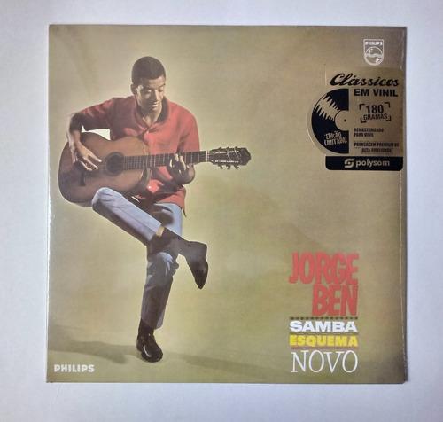 Jorge Ben Lp Nac Lacrado Samba Esquema Novo 180 G Remasteriz