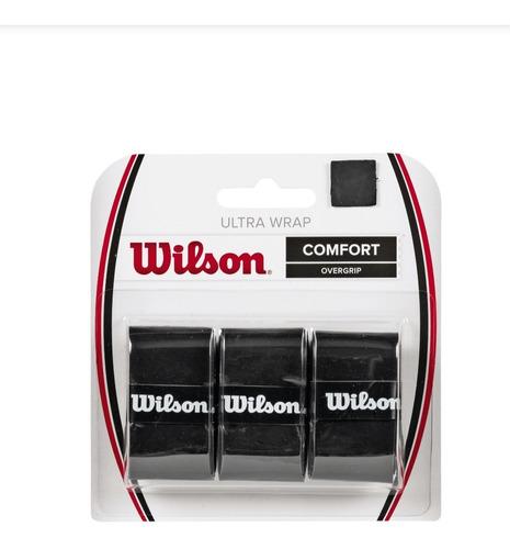 Over Grip Ultra Envolvente Marca Wilson Paquete De 3.
